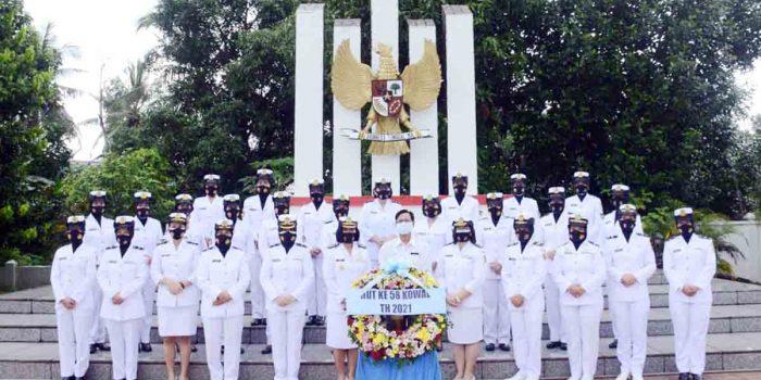 Jelang HUT Kowal Ke 58, Aspers Danlantamal IV Pimpin Ziarah Rombongan di Taman Makam Pahlawan 25