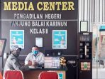 Satu Pegawai Reaktif, Sidang di Pengadilan Negeri Karimun Tertutup 7