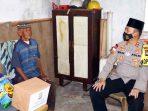 Pak Tua Berusia 90 Tahun dan Sebatang Kara Ini Jadi Perhatian Kapolres Karimun 3