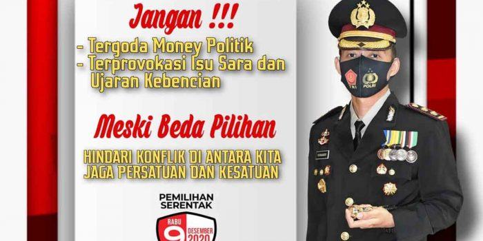 Kapolres Tanjung Pinang : Jangan Terprovokasi Isu Sara dan Money Politik 22