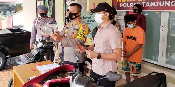 Curi 2 Unit Motor, Remaja Ini Ditangkap Unit Reskrim Polsek Tanjungpinang Timur 41