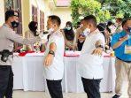 90 Personel Gabungan TNI-Polri Lakukan Pengamanan Debat Pilkada Lingga 8