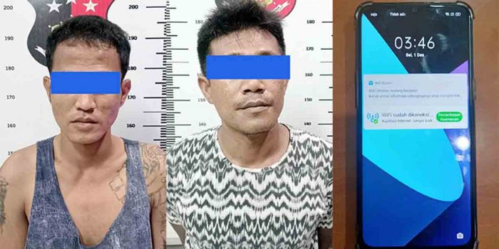 9 Kali Beraksi, 2 Pelaku Jambret HP Ditangkap Unit Reskrim Polsek Sagulung 26