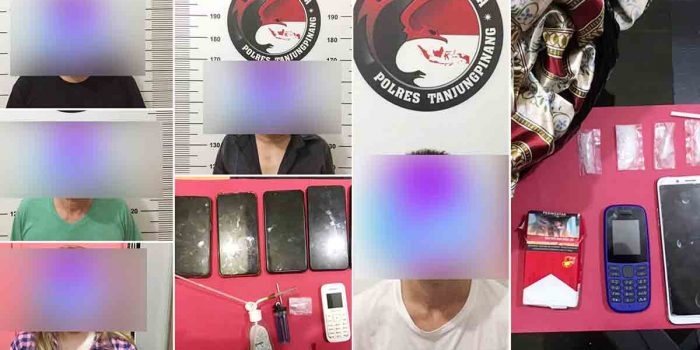 Dalam 2 Hari, Polres Tanjungpinang Tangkap 7 Pelaku Tindak Pidana Narkotika 38