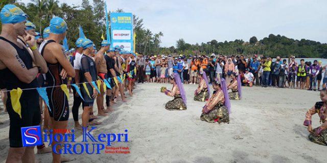 """Bupati Bintan Buka Event """"BINTAN TRIATHLON KE 14"""""""