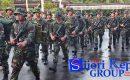 """120 Prajurit TNI """"SERBU"""" Mapolres Natuna"""