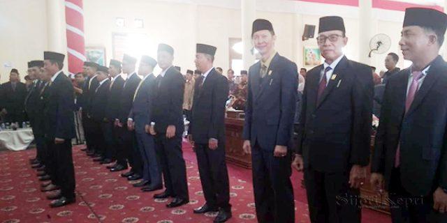 20 Anggota DPRD Natuna Dilantik