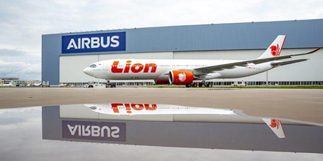 Airbus 330-900NEO Pertama Lion Air Telah Diluncurkan