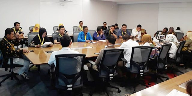 Perjuangkan Status Bandara Matak, DPRD Anambas Kunjungi Kantor SKK MIGAS
