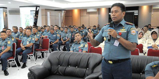 Peserta Penyuluhan Antusias Ikuti Bimtek Penempatan Jabatan Prajurit TNI AL