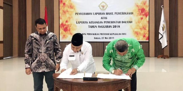 Raih WTP, Pimpinan Dewan Apresiasi Pemkab Anambas