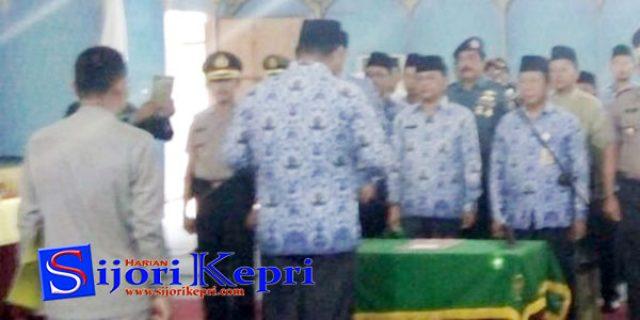 "Abdul Haris Lantik 5 Pejabat ""PIMPINAN TINGGI PRATAMA ANAMBAS"""