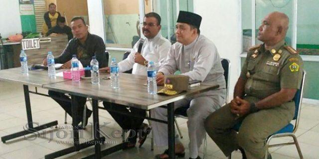 """Rafiq Minta Pedagang Pasar Puan Maimun """"BENTUK PENGURUS"""""""