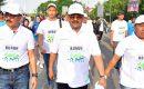 Bupati Karimun Hadiri Fun Walk BPJS Ketenagakerjaan