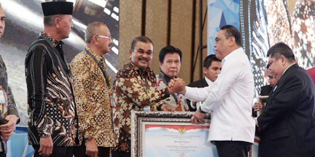 Pemkab Karimun Raih Penghargaan LHE SAKIP Tahun 2018