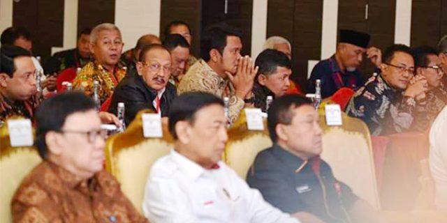 Sukseskan Pemilu 2019, Hamid Rizal Hadiri Rakornas Kewaspadaan Nasional