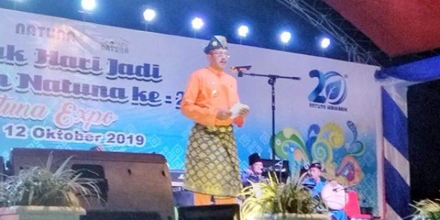 Natuna Expo Ditutup, Bupati Janji Wujudkan Pembangunan Lebih Baik dan Merata