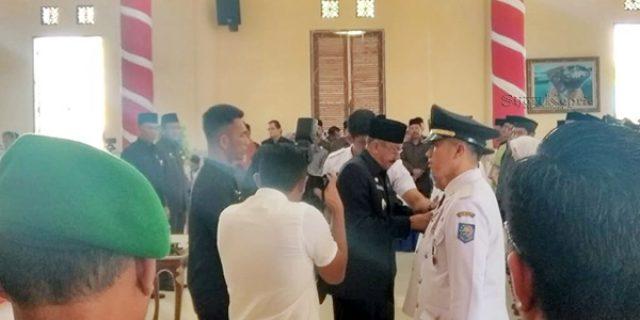 Hamid Rizal Lantik 85 Pejabat Natuna