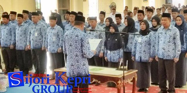 """Hamid Rizal Lantik """"38 PEJABAT PEMKAB NATUNA"""""""