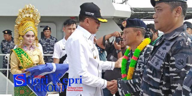 "Bupati Natuna Sambut Baik ""PERESMIAN PENGOPERASIAN"" KAL Pulau Bungaran 28/II-4-23"
