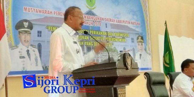 """Hamid Rizal : Kebijakan Pembangunan Natuna """"TERFOKUS PADA 2 SEKTOR PRIORITAS"""""""