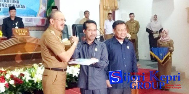 """Hamid Rizal Sampaikan """"LKPj TA 2017"""""""
