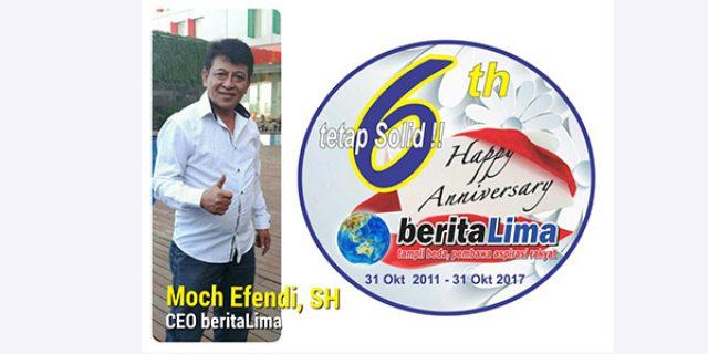 "Peringatan 6th Anniversary beritaLima ""DIRAYAKAN SE INDONESIA"""