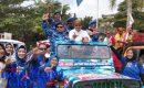 """Kontestan Pilwako Tanjungpinang """"KONVOI KAMPANYE DAMAI"""""""