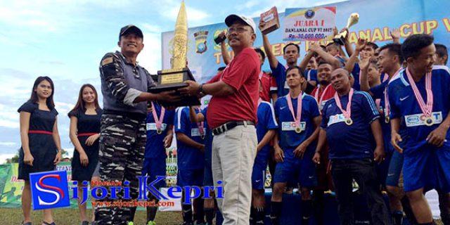 """Turnaman Danlanal Cup VI Berakhir """"INILAH JUARANYA"""""""