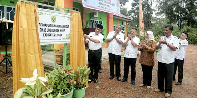 "Alias Wello Launching ""POS PENGADUAN DLH LINGGA"""