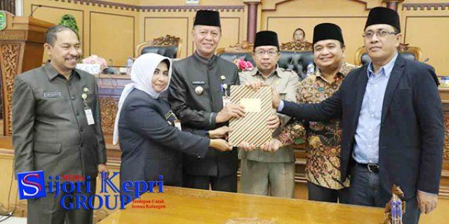 """DPRD dan Pemko Tanjungpinang Sepakati """"KUA PPAS TA 2019"""""""