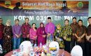 Syahrul – Rahma Hadiri Open House Perayaan Nyepi Dandim 0315/Bintan