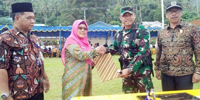 Wabup Natuna Apresiasi Kinerja Jajaran TNI AD