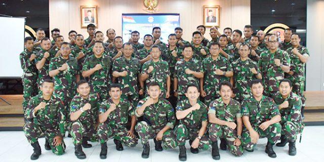76 Personil TNI AL Ikuti Latap F1QR Lantamal IV TW IV