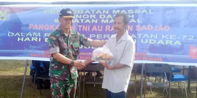 Hari Bhakti TNI AU Ke 72, Lanud RSa Ranai Gelar Berbagai Kegiatan