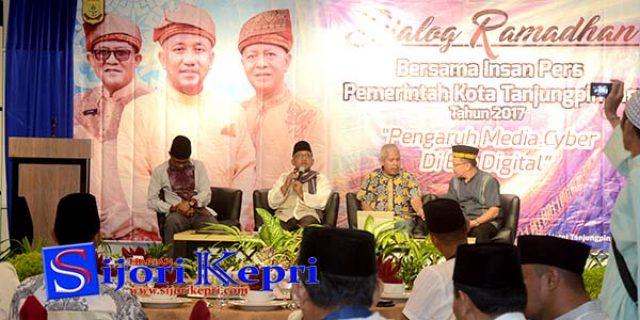 """Dialog Ramadhan """"PEMKO TANJUNGPINANG BERSAMA PERS"""""""
