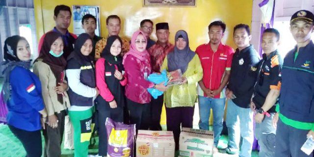 Dinsos dan Organisasi di Natuna Bantu Korban Kebakaran