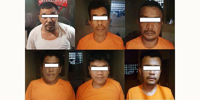 Polda Kepri Amankan Enam Pelaku Pembunuhan di Baloi Kolam