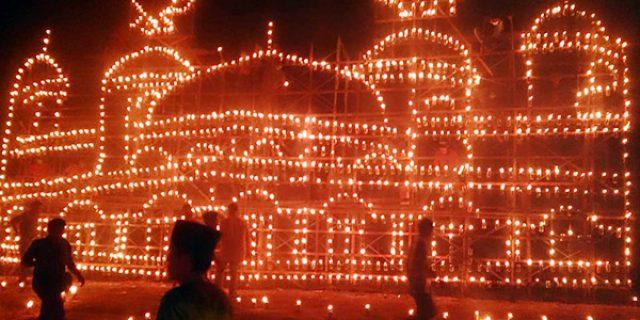 30 Peserta Meriahkan Festival Lampu Colok