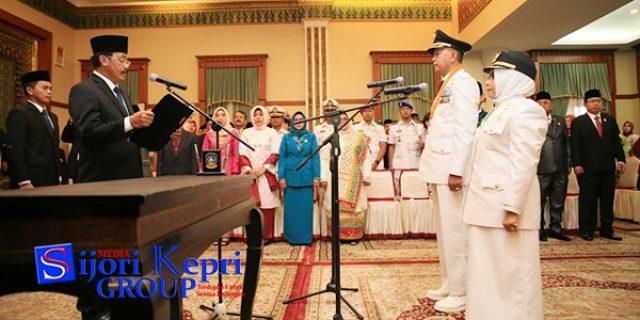 "Walikota Tanjungpinang ""DILANTIK PUKUL 07.00 PAGI"""