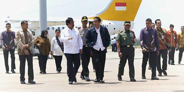 """Gubernur Kepri Sambut Kedatangan """"PRESIDEN JOKOWI"""""""
