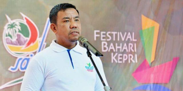 """Guntur Sakti """"SUTRADARA"""" Festival Bahari Kepri"""