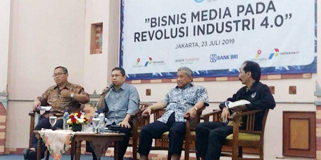 Media Harus Mampu Menjawab Tantangan Revolusi Industri 4.0