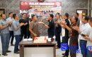 """Polisi Karimun """"SAMBANGI"""" Kantor TNI"""