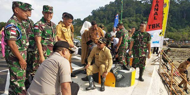 HUT TNI ke 74, Bupati Karimun Ikut Tanam Bibit Mangrove
