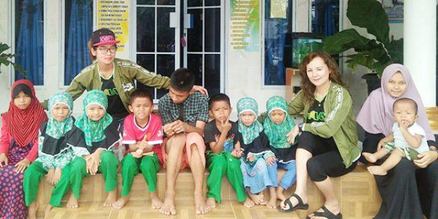 Hari Jadi Kelima, SSA Berbagi Bersama Anak Panti Inayah Km 23 Bintan