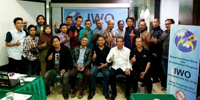 """Ketua IWO Kalimantan Selatan """"TERPILIH SECARA AKLAMASI"""""""