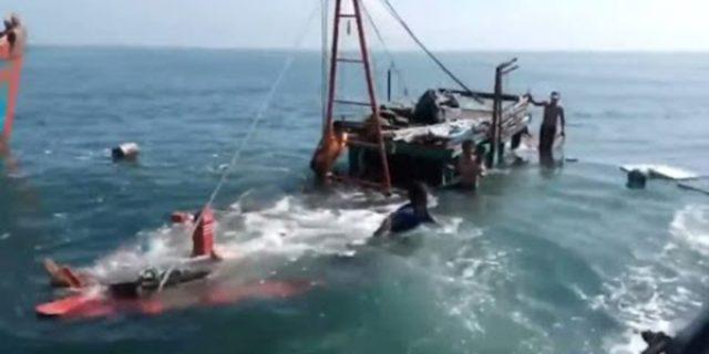 "Kapal Trawl Tenggelam ""3 ABK HILANG"""