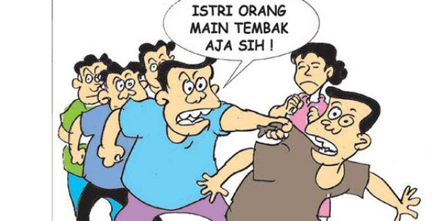 """Sedang """"ASIK"""" Pegawai Pemkab Karimun """"DIGEREBEK"""""""