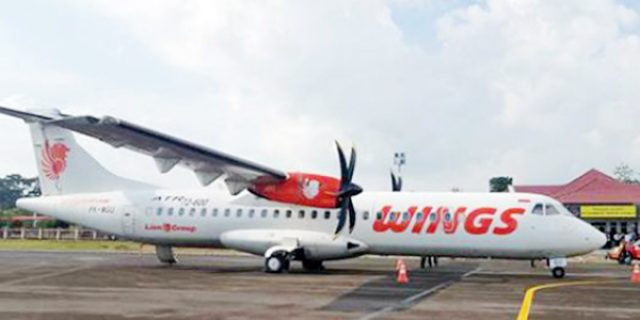 Wings Air Lakukan Pembatalan Penerbangan
